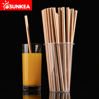 Compostable Biodegradable Eco Friendly Kraft Brown Paper Bio Straw
