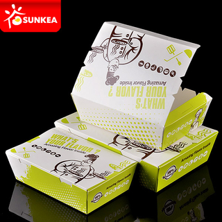 Take away take out Paper Food Packaging