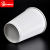 PLA lined coated ripple wall coffee paper cup