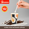 Eco firendly biodegradable PLA plastic coffee stick coffee stirrer