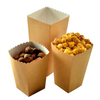 Brown Kraft Paper Popcorn Box