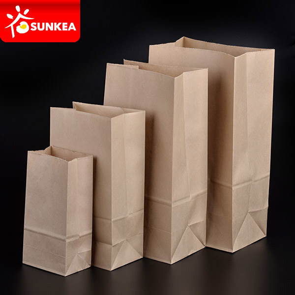 Takeaway Fast Food Kraft Paper Bag