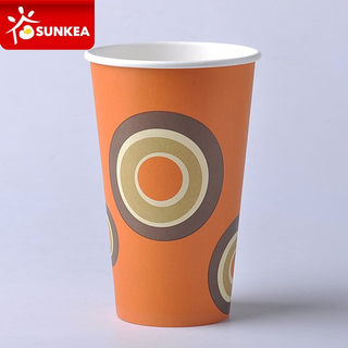 Disposable Vending Machine 12oz Coffee Paper Cup