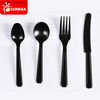 100 pieces per plastic bag plastic cutlery set