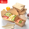 Take away Take out Paper Food Container