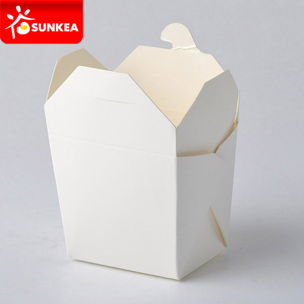 Paper Food Noodle Container without Handle