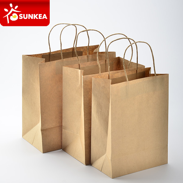 Kraft Paper Carry Bags with Handle
