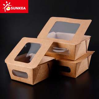 Heat Seal Window Paper Design Sushi Food Box